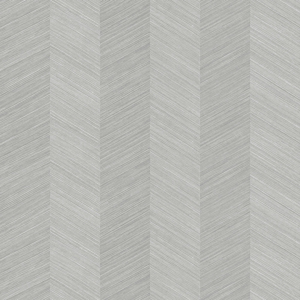 TC70108 gray chevy hemp embossed vinyl wallpaper from the More Textures collection by Seabrook Designs