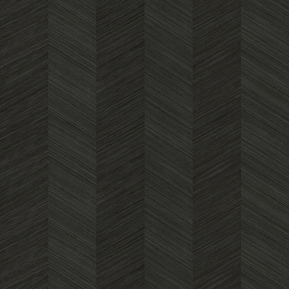 TC70110 black chevy hemp embossed vinyl wallpaper from the More Textures collection by Seabrook Designs