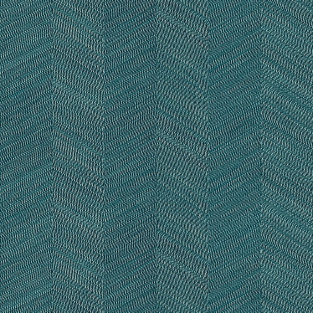 TC70114 teal chevy hemp embossed vinyl wallpaper from the More Textures collection by Seabrook Designs