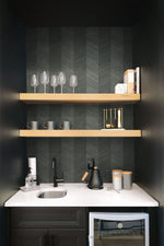 TC70118 home bar gray chevy hemp embossed vinyl wallpaper from the More Textures collection by Seabrook Designs