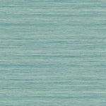TC70302 teal shantung silk embossed vinyl wallpaper from the More Textures collection by Seabrook Designs