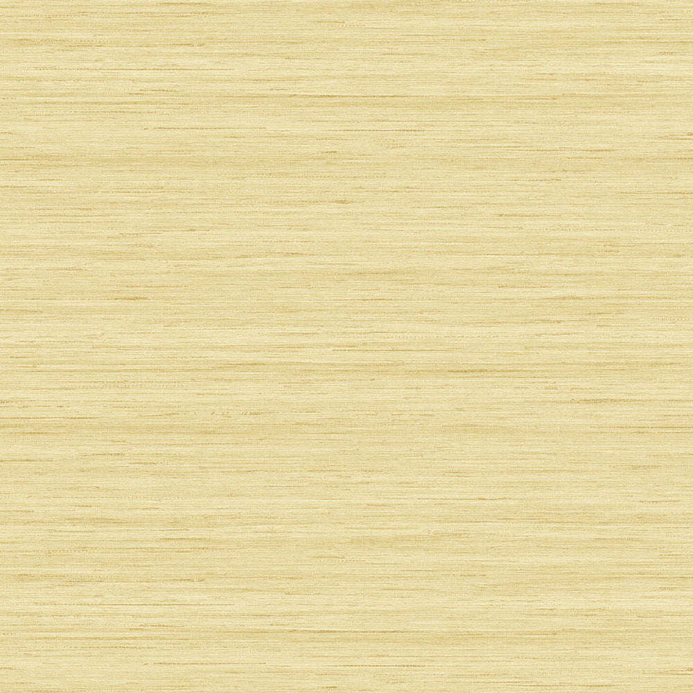 TC70303 yellow shantung silk embossed vinyl wallpaper from the More Textures collection by Seabrook Designs