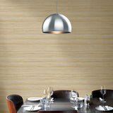 TC70305 dining room tan shantung silk embossed vinyl wallpaper from the More Textures collection by Seabrook Designs