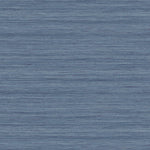 TC70309 blue shantung silk embossed vinyl wallpaper from the More Textures collection by Seabrook Designs