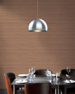 TC70311 dining room red shantung silk embossed vinyl wallpaper from the More Textures collection by Seabrook Designs