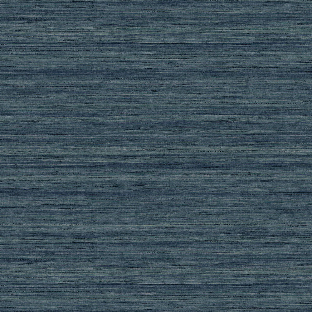 TC70312 blue shantung silk embossed vinyl wallpaper from the More Textures collection by Seabrook Designs