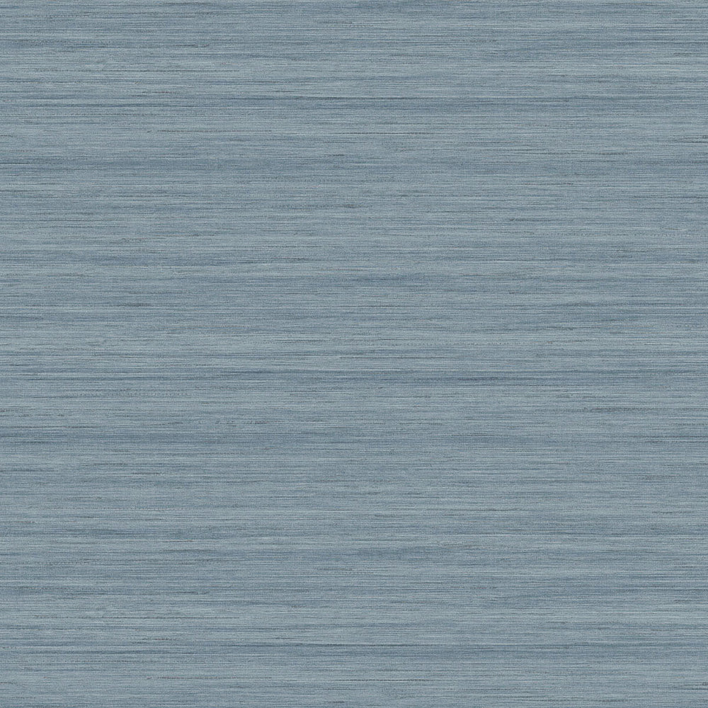 TC70332 blue shantung silk embossed vinyl wallpaper from the More Textures collection by Seabrook Designs