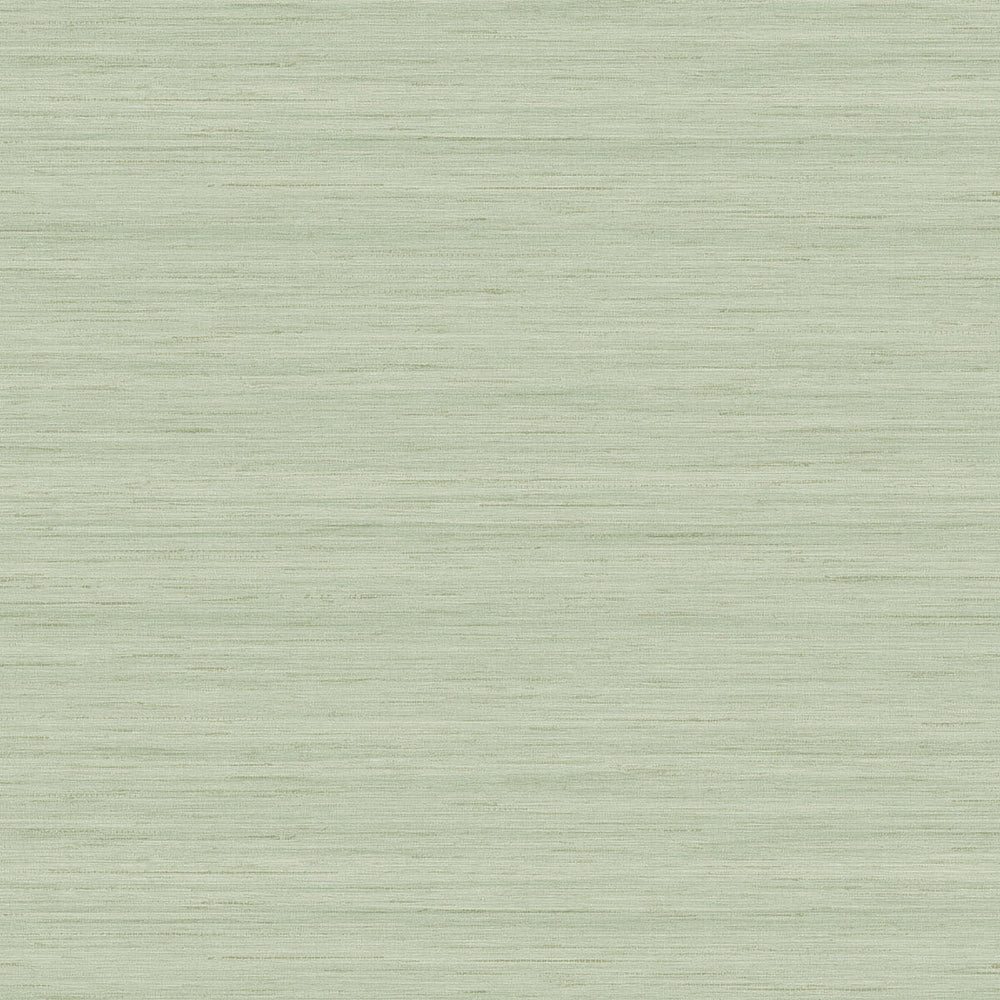 TC70334 green shantung silk embossed vinyl wallpaper from the More Textures collection by Seabrook Designs