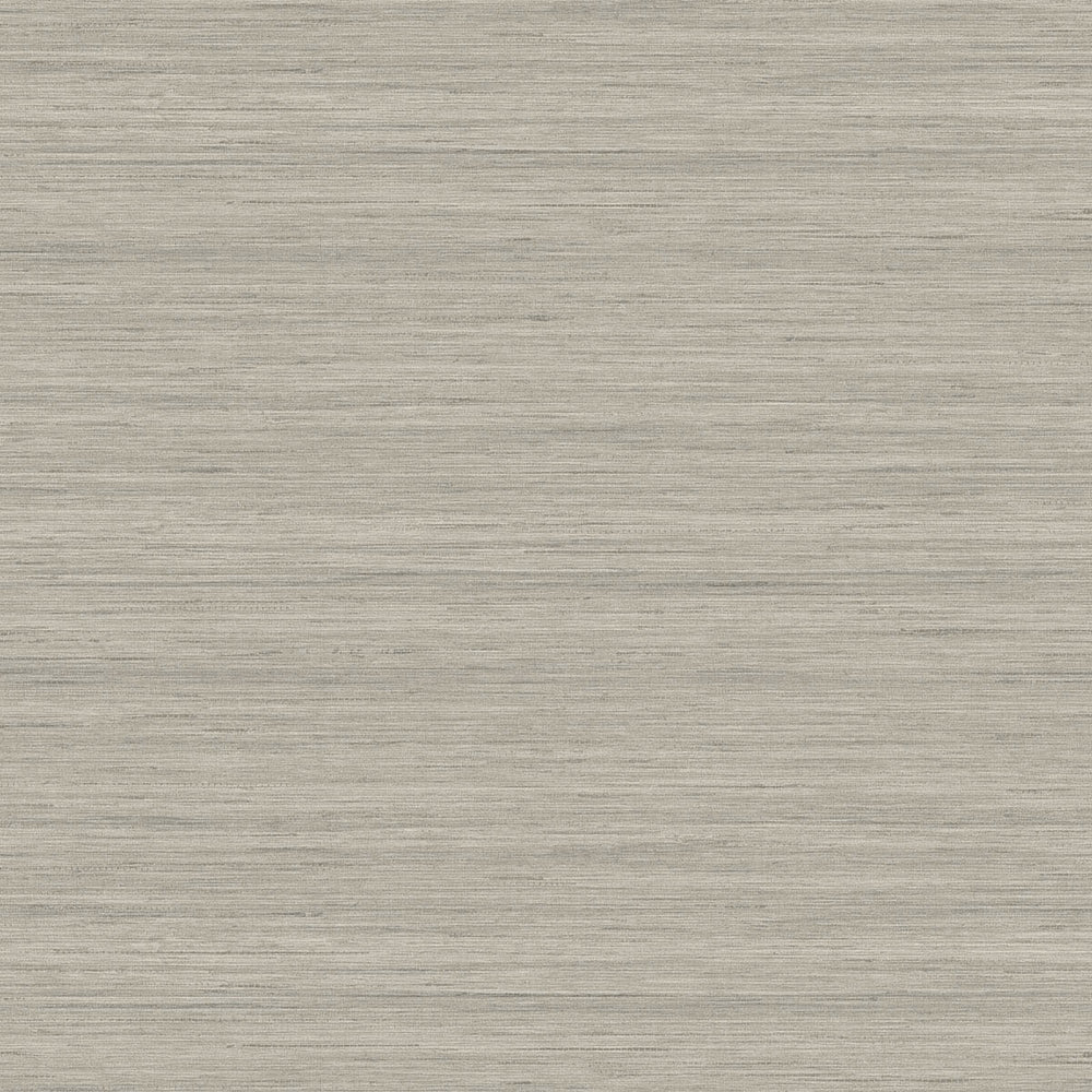 TC70337 gray shantung silk embossed vinyl wallpaper from the More Textures collection by Seabrook Designs