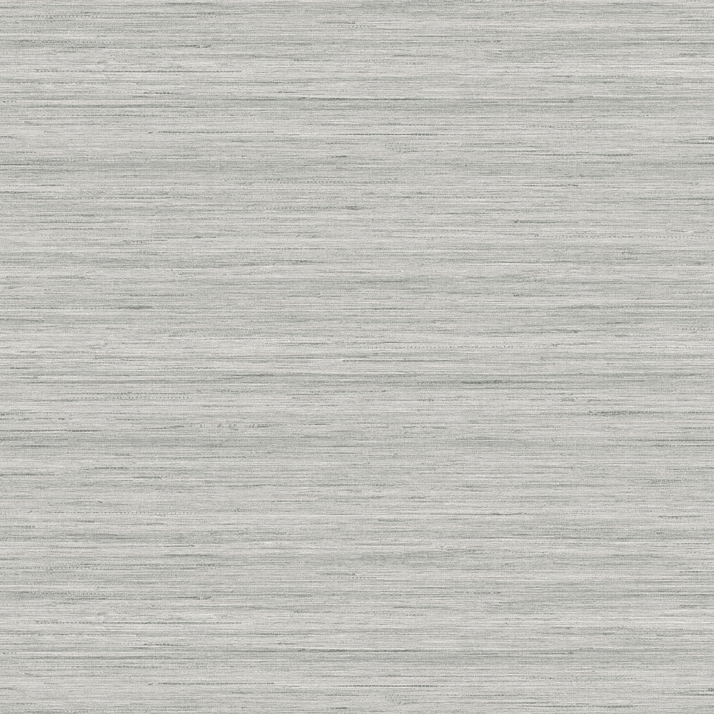 TC70348 gray shantung silk embossed vinyl wallpaper from the More Textures collection by Seabrook Designs