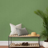 TC70504 entry green seagrass weave embossed vinyl wallpaper from the More Textures collection by Seabrook Designs