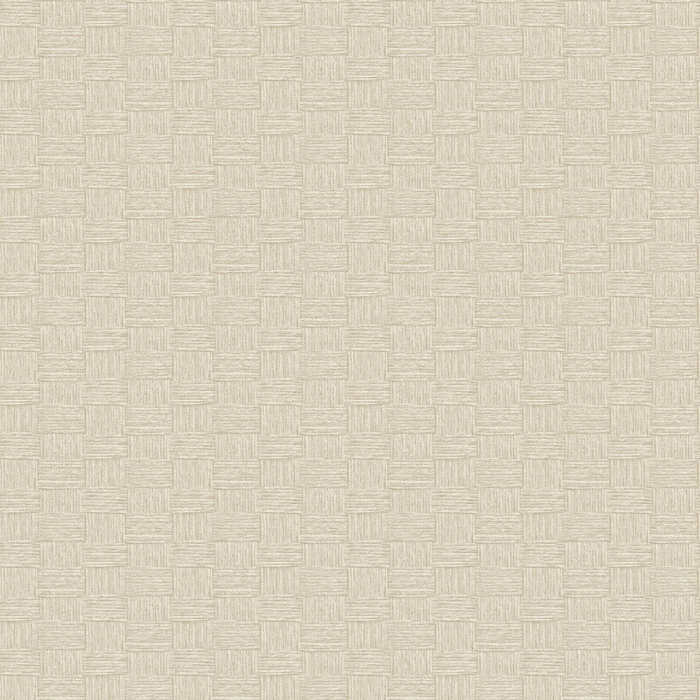 TC70505 tan seagrass weave embossed vinyl wallpaper from the More Textures collection by Seabrook Designs