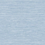 TC70702 blue sisal hemp grasscloth embossed vinyl wallpaper from the More Textures collection by Seabrook Designs