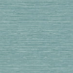 TC70704 teal sisal hemp grasscloth embossed vinyl wallpaper from the More Textures collection by Seabrook Designs