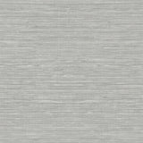 TC70708 gray sisal hemp grasscloth embossed vinyl wallpaper from the More Textures collection by Seabrook Designs