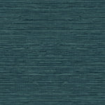 TC70714 teal sisal hemp grasscloth embossed vinyl wallpaper from the More Textures collection by Seabrook Designs