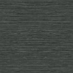TC70718 gray sisal hemp grasscloth embossed vinyl wallpaper from the More Textures collection by Seabrook Designs
