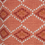 Waneta hand woven throw pillow pattern from Say Decor