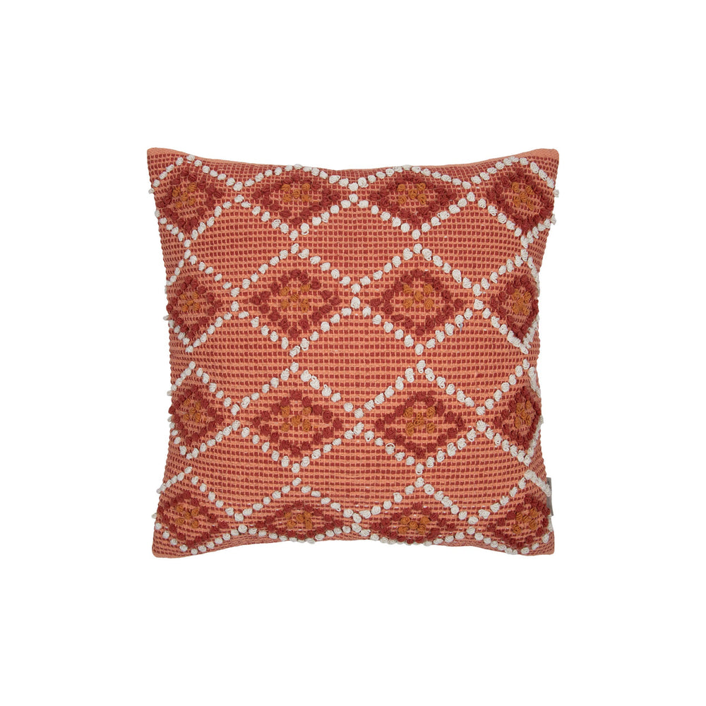 Waneta hand woven throw pillow front from Say Decor