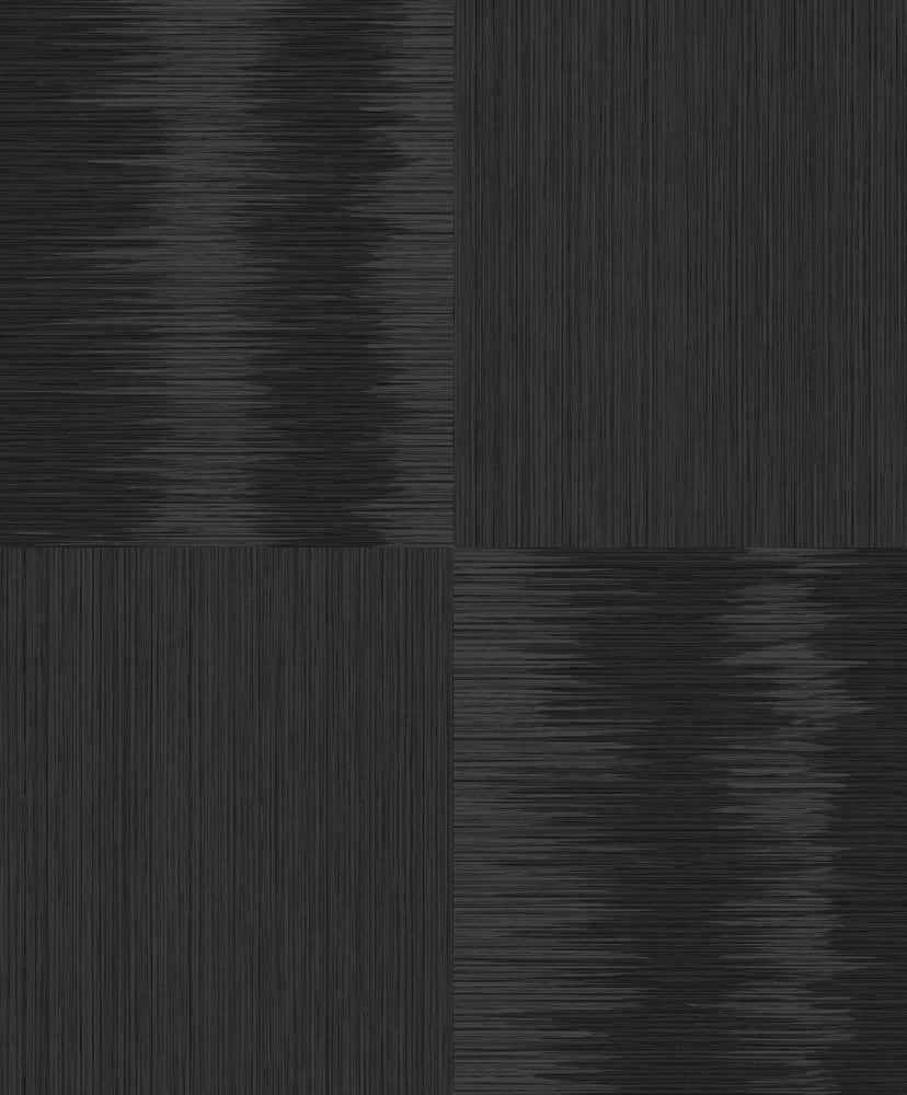 ZN51500 Ginza stria block glitter wallpaper from the Black and White collection by Etten Gallerie