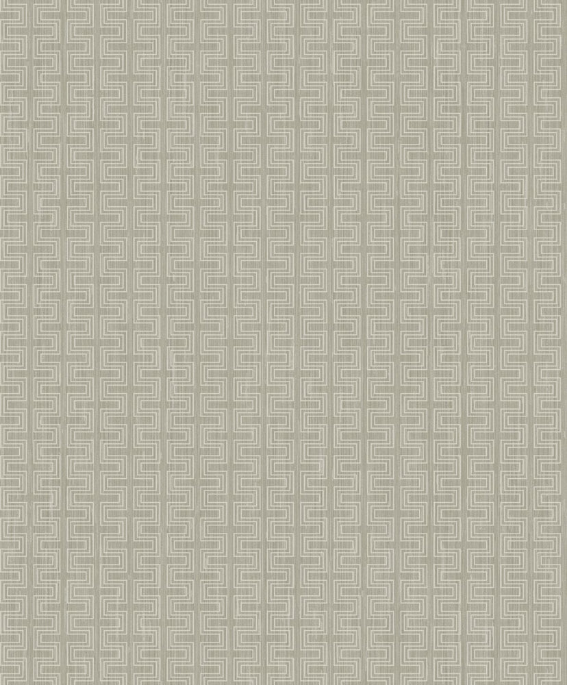 ZN51803 Ueno stitched geometric wallpaper from the Black and White collection by Etten Gallerie