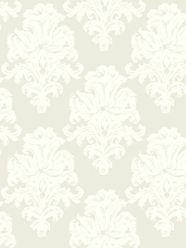 TA20105 montserrat damask wallpaper from the Tortuga collection by Seabrook Designs