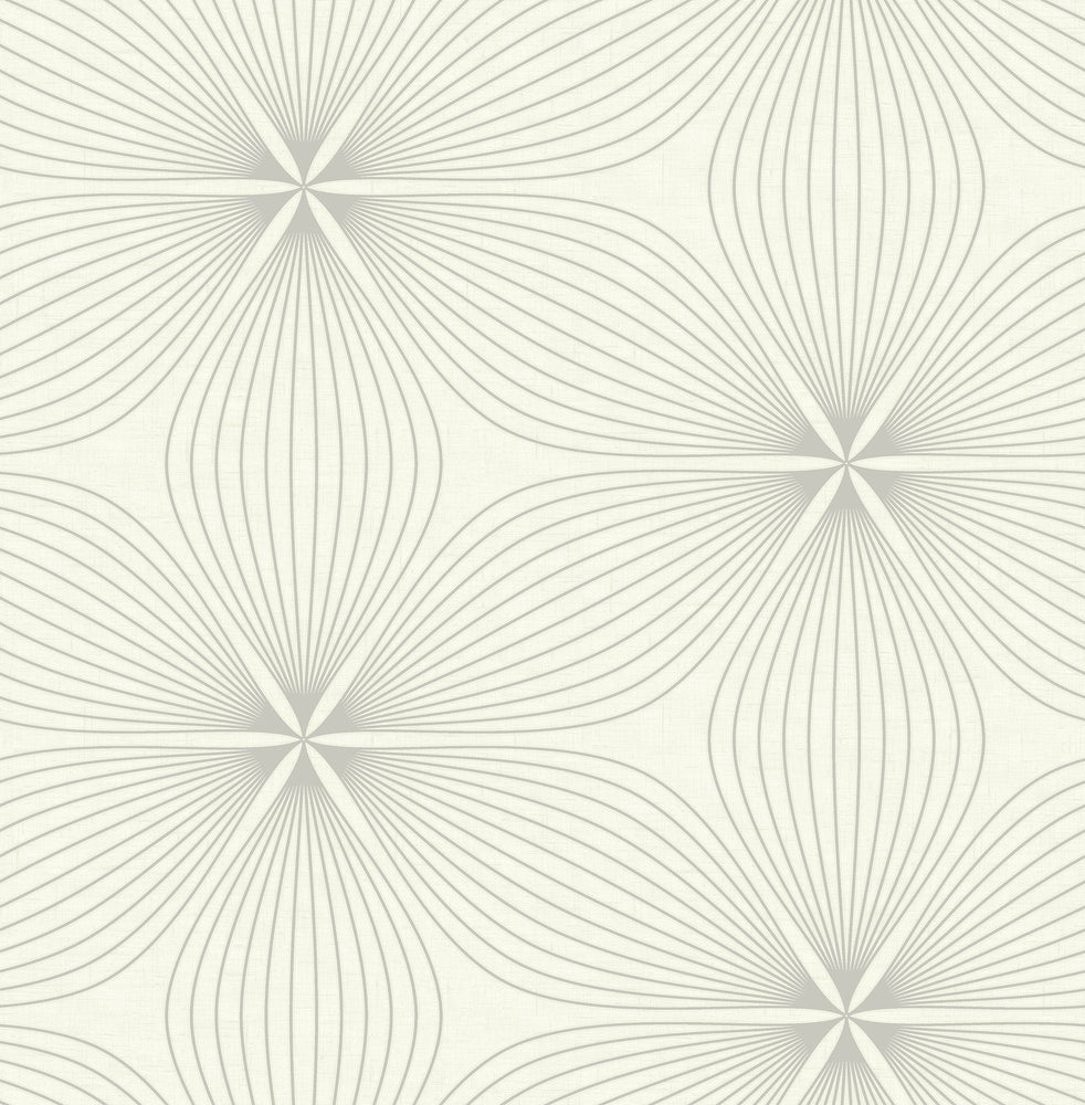 RL61108 Lucy starburst geometric wallpaper from the Retro Living collection by Seabrook Designs