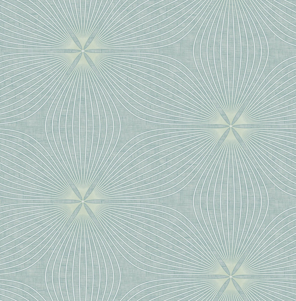 RL61104 Lucy starburst geometric wallpaper from the Retro Living collection by Seabrook Designs