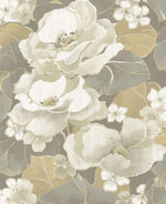 NE50508 Adorn floral wallpaper from the Nouveau Luxe collection by Seabrook Designs
