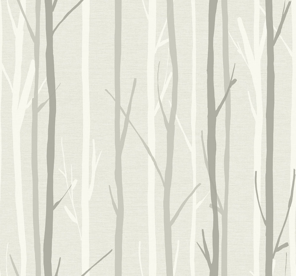 OA20210 branch botanical wallpaper from the Indigo collection by Seabrook Designs