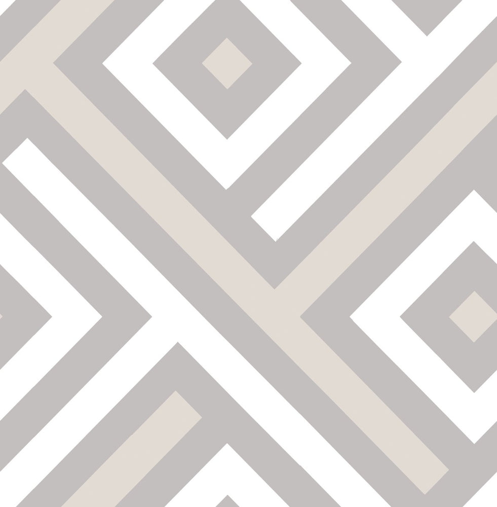 GT20308 Mirante chevron block wallpaper from the Geo collection by Seabrook Designs