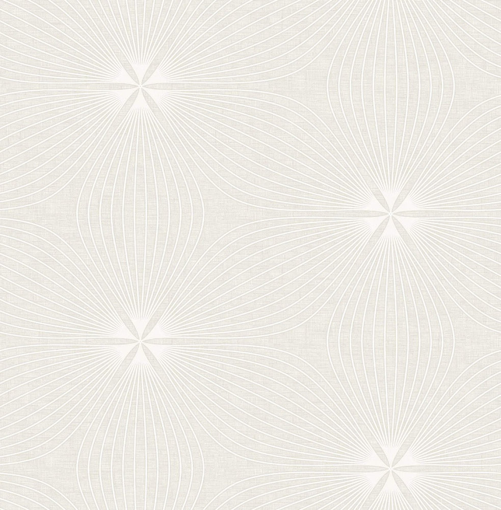 RL61110 Lucy starburst geometric wallpaper from the Retro Living collection by Seabrook Designs