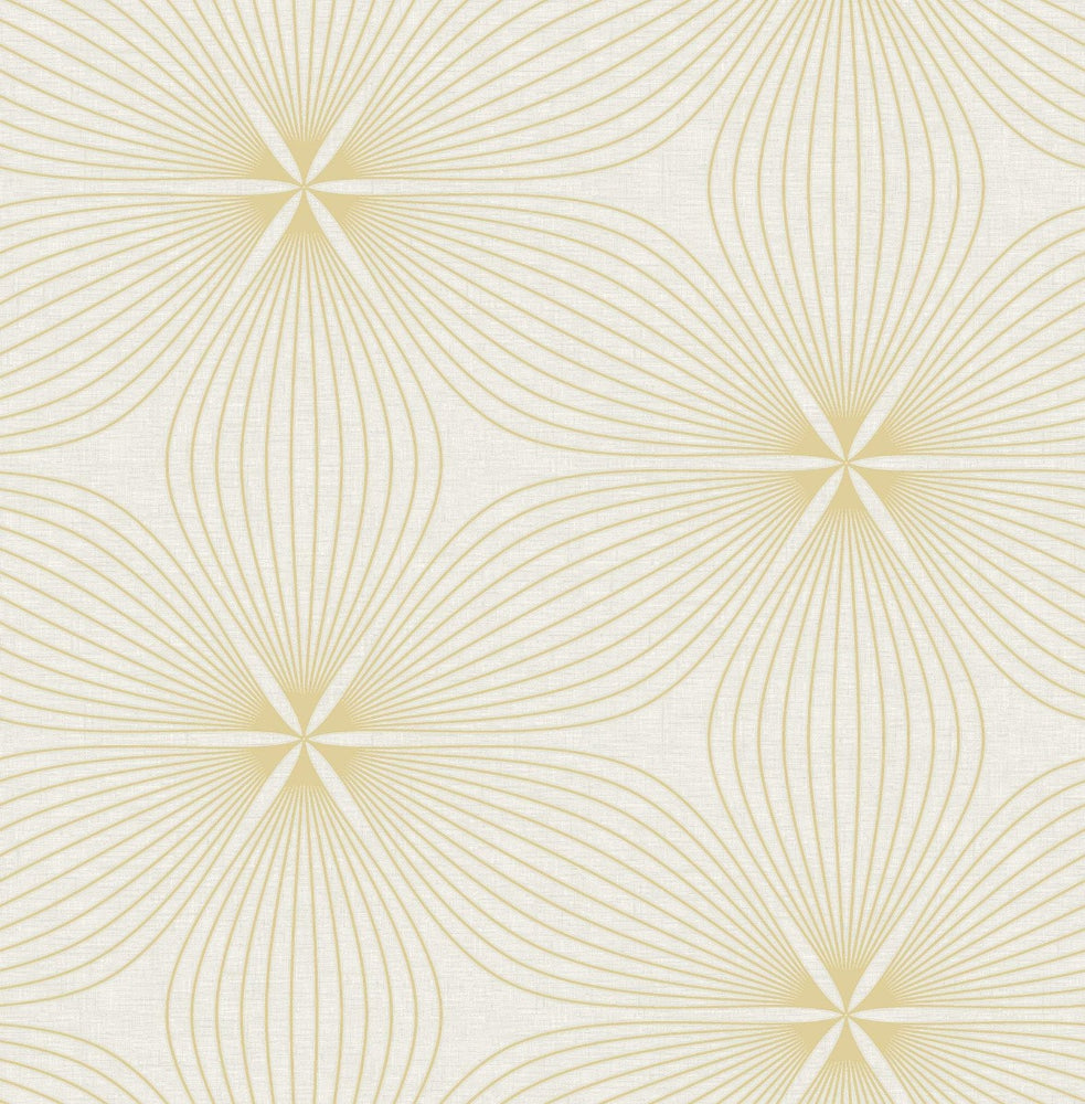 RL61105 Lucy starburst geometric wallpaper from the Retro Living collection by Seabrook Designs