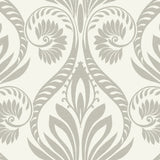 TA21008 bonaire retro damask wallpaper from the Tortuga collection by Seabrook Designs