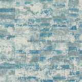 MW30402 Guttenberg stuccoed brick faux wallpaper from the Metalworks collection by Seabrook Designs