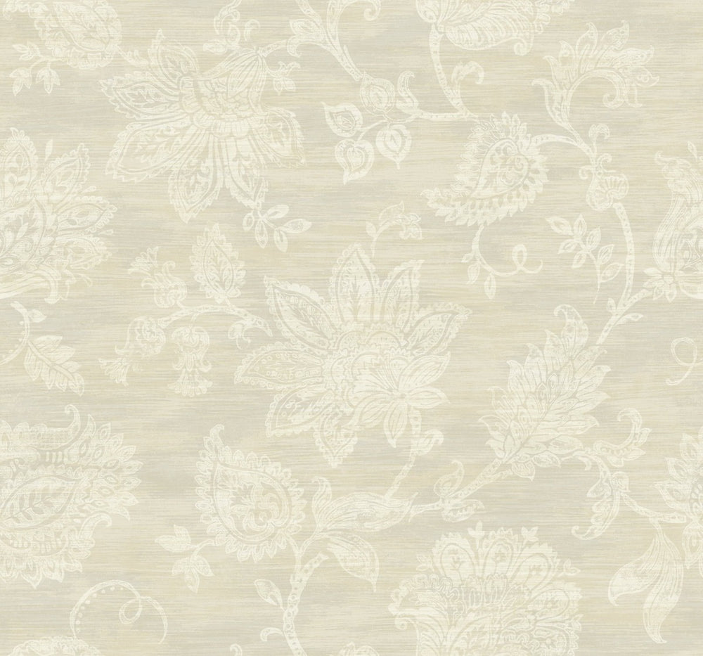 SD80713AR paisley floral bohemian wallpaper from Say Decor