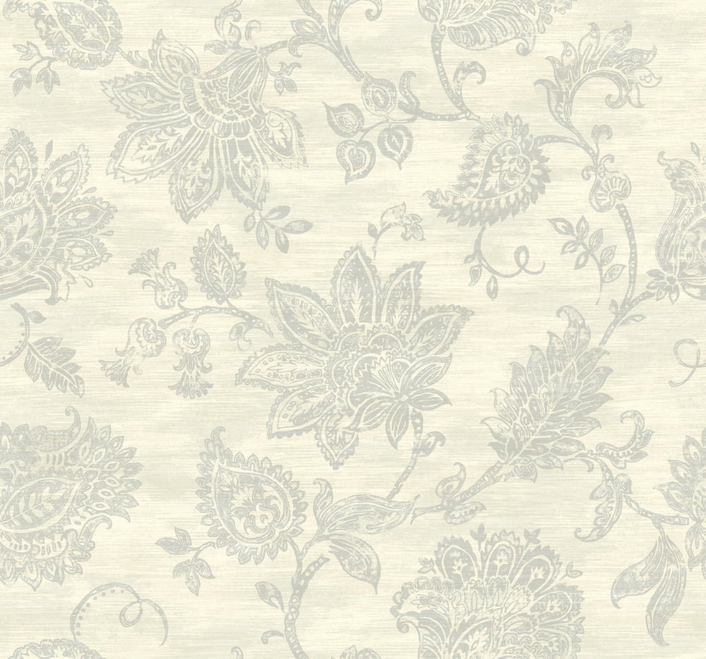 SD20713AR paisley floral bohemian wallpaper from Say Decor