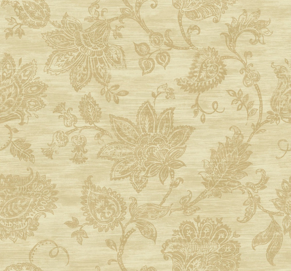 SD50713AR paisley floral bohemian wallpaper from Say Decor