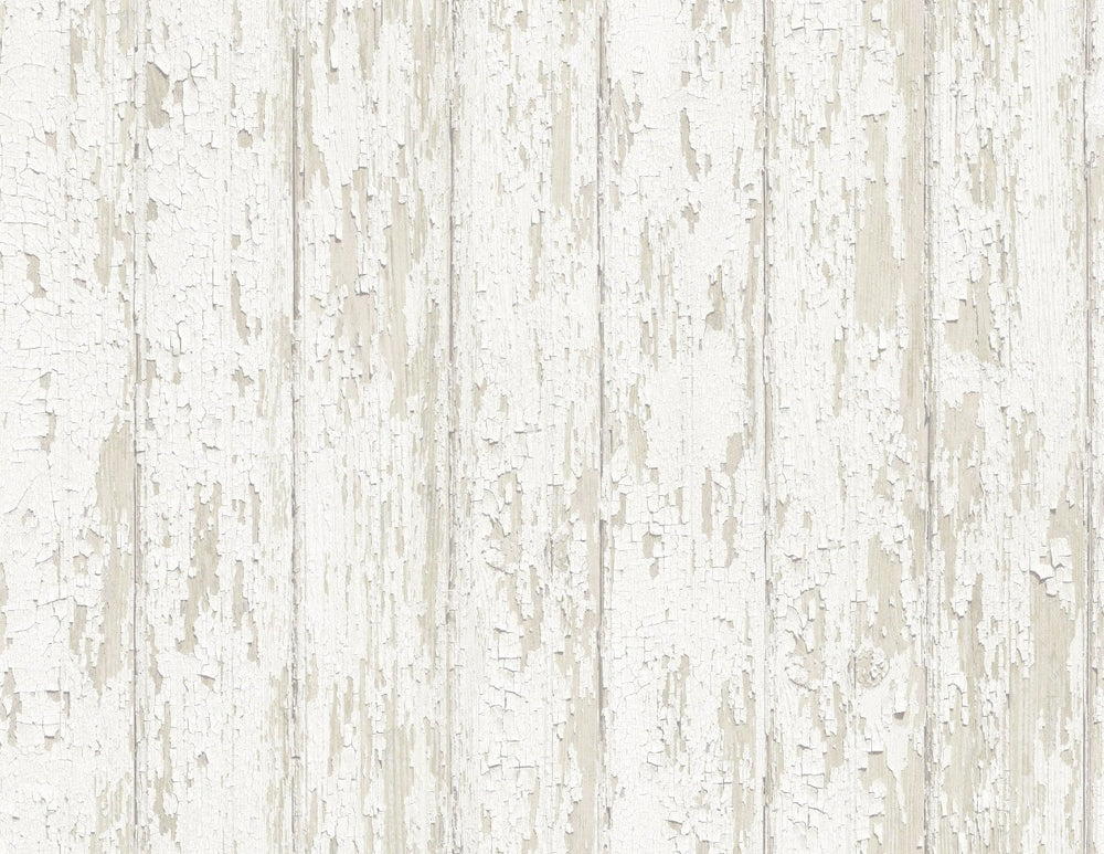 Sumter Faux Wood Plank Rustic Wallpaper