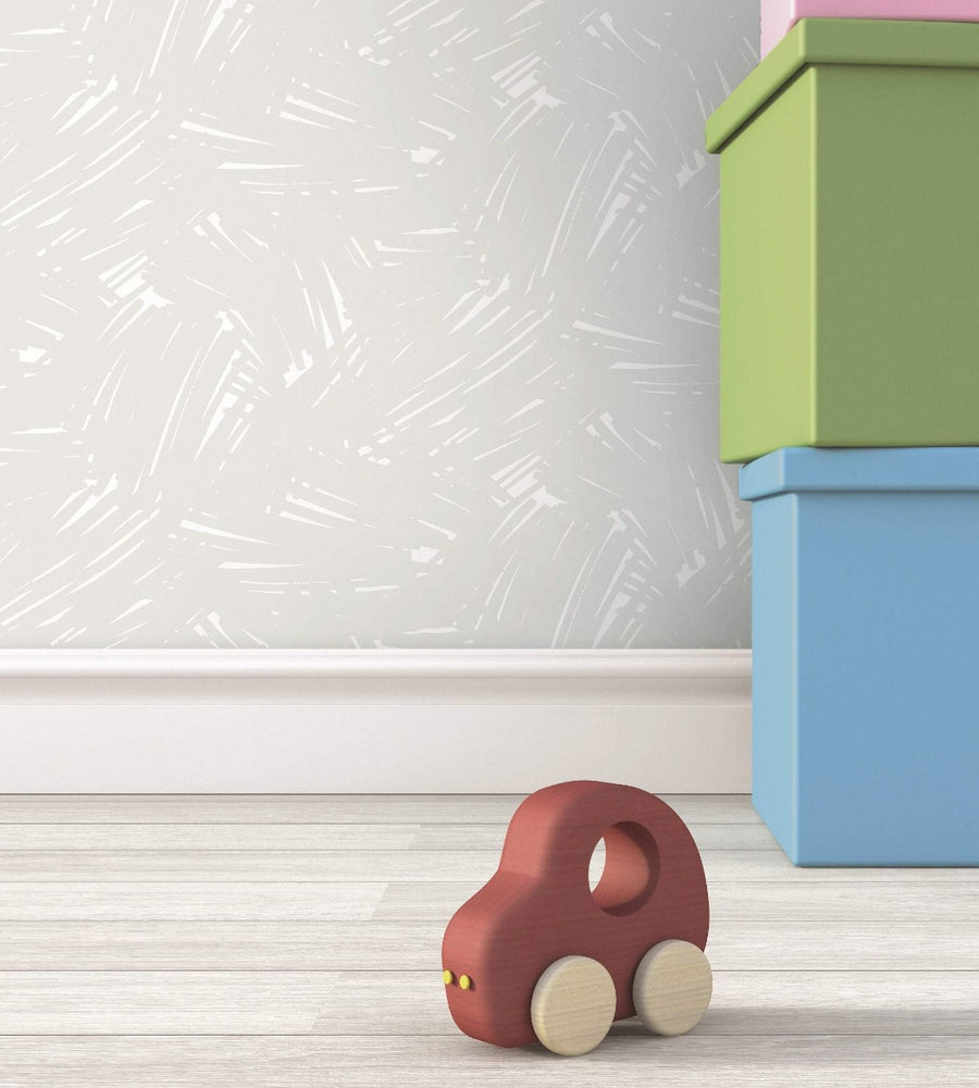 FA40501 turf brushstroke wallpaper decor from the Playdate Adventure collection by Seabrook Designs