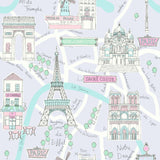 FA40609 bon voyage kids wallpaper from the Playdate Adventure by Seabrook Designs