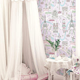 FA40609 bon voyage kids nursery wallpaper from the Playdate Adventure by Seabrook Designs