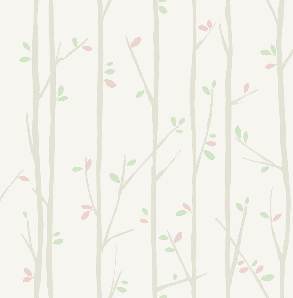 FA41205 tree top kids forest wallpaper from the Playdate Adventure collection by Seabrook Designs
