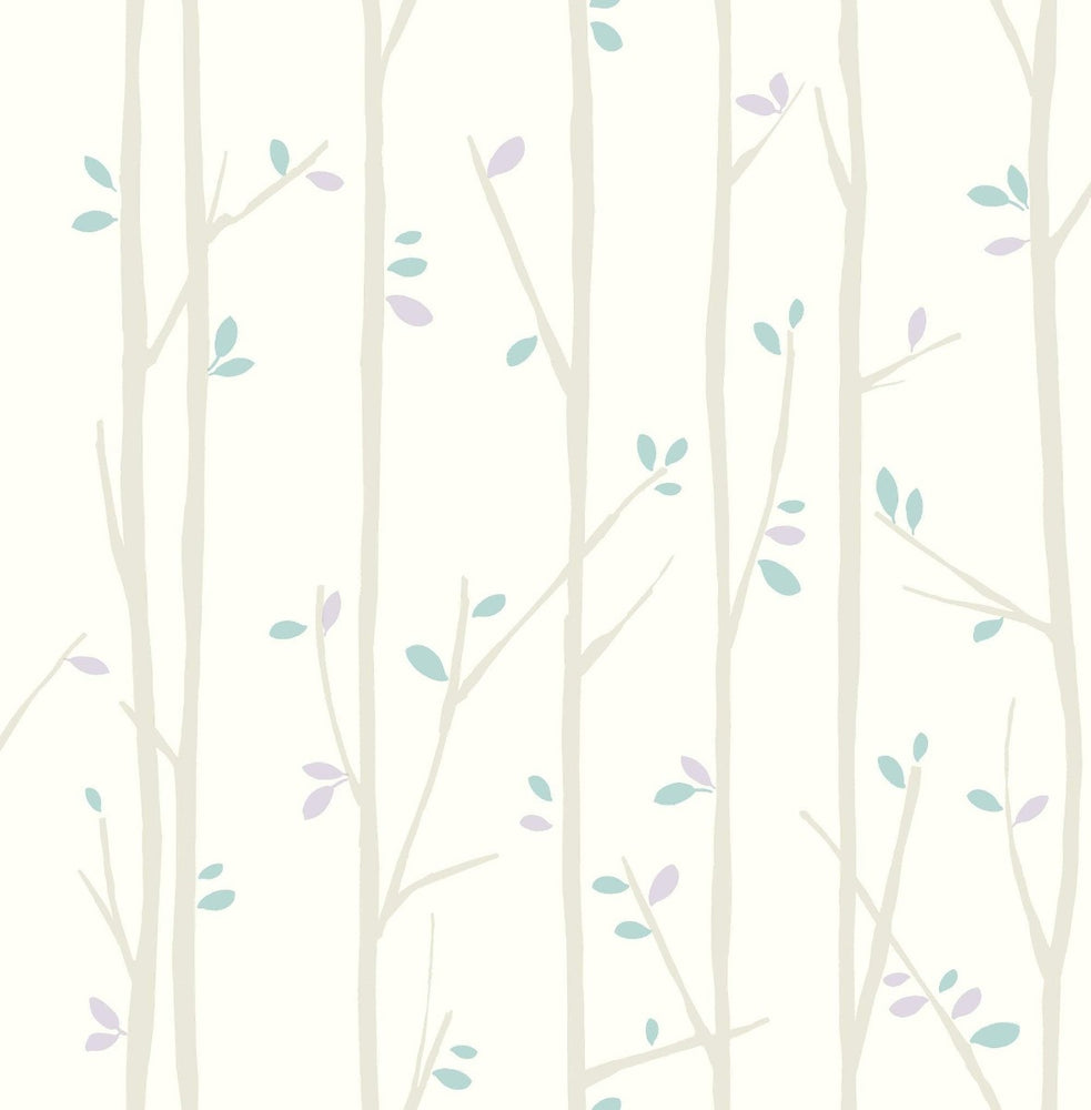FA41209 tree top kids forest wallpaper from the Playdate Adventure collection by Seabrook Designs