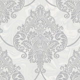AW70806 puff damask wallpaper from the Casa Blanca 2 collection by Collins & Company