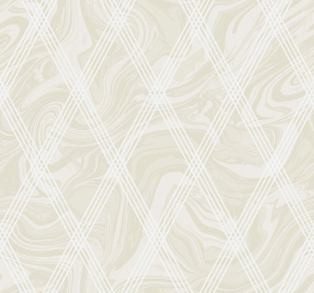 AW70905 diamond geometric wallpaper from the Casa Blanca 2 collection by Collins & Company