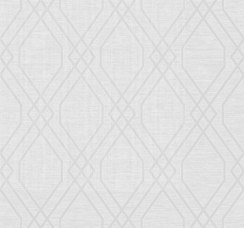 Collins & Company Casa Blanca 2 Galena Diamond Stringcloth Wallpaper
