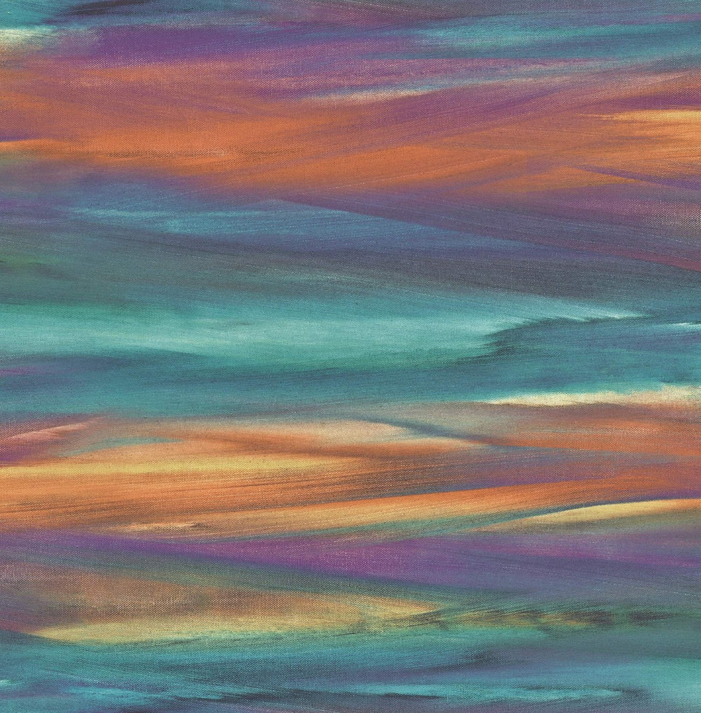 AH40201 rainbow brushstroke abstract wallpaper from the L'Atelier de Paris collection by Seabrook Designs
