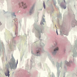 AH40409 watercolor floral wallpaper from the L'Atelier de Paris collection by Seabrook Designs