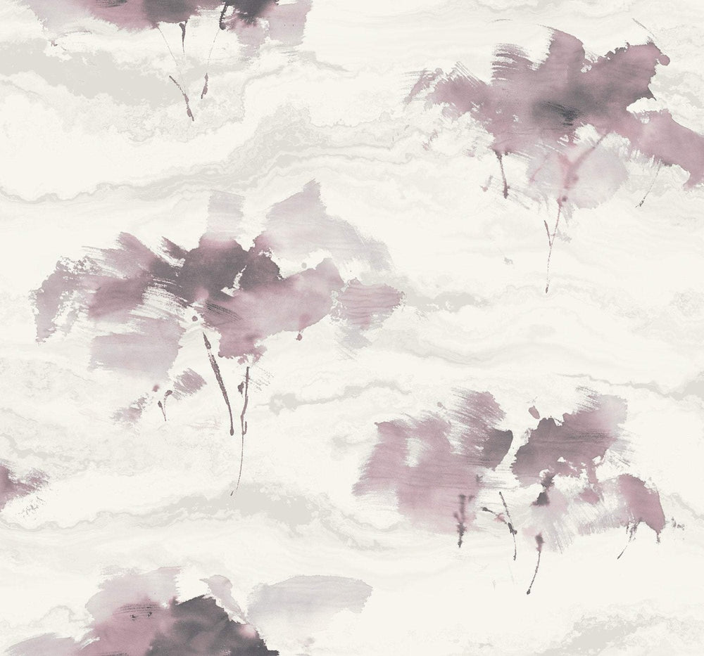 AH40701 watercolor trees botanical wallpaper from the L'Atelier de Paris collection by Seabrook Designs
